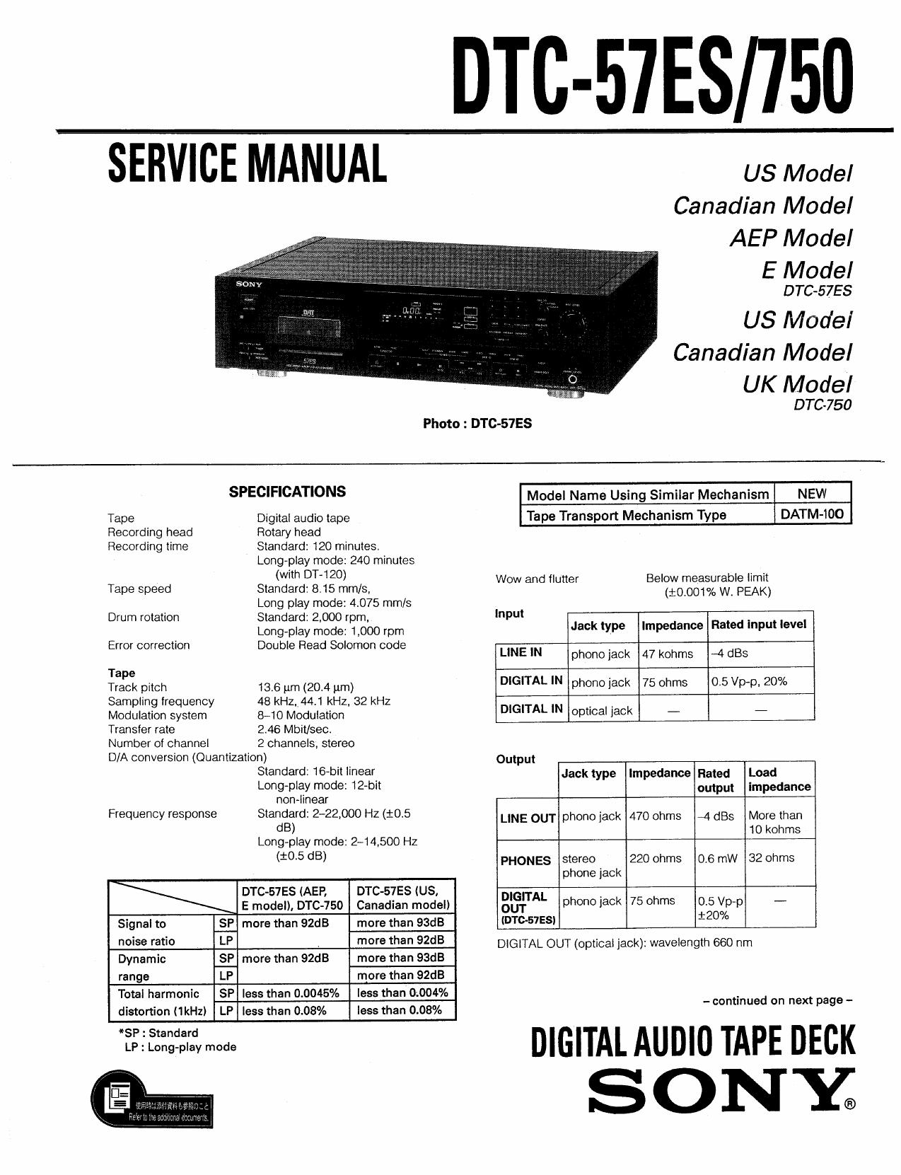 Dtc 57es 750 Nesovski Com Manualzz