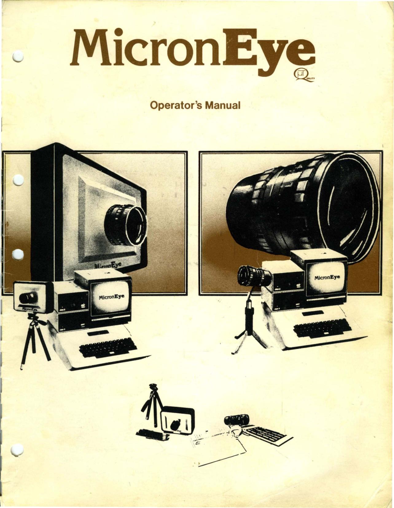 MicronEye_Operators_Manual_1983.pdf | Manualzz