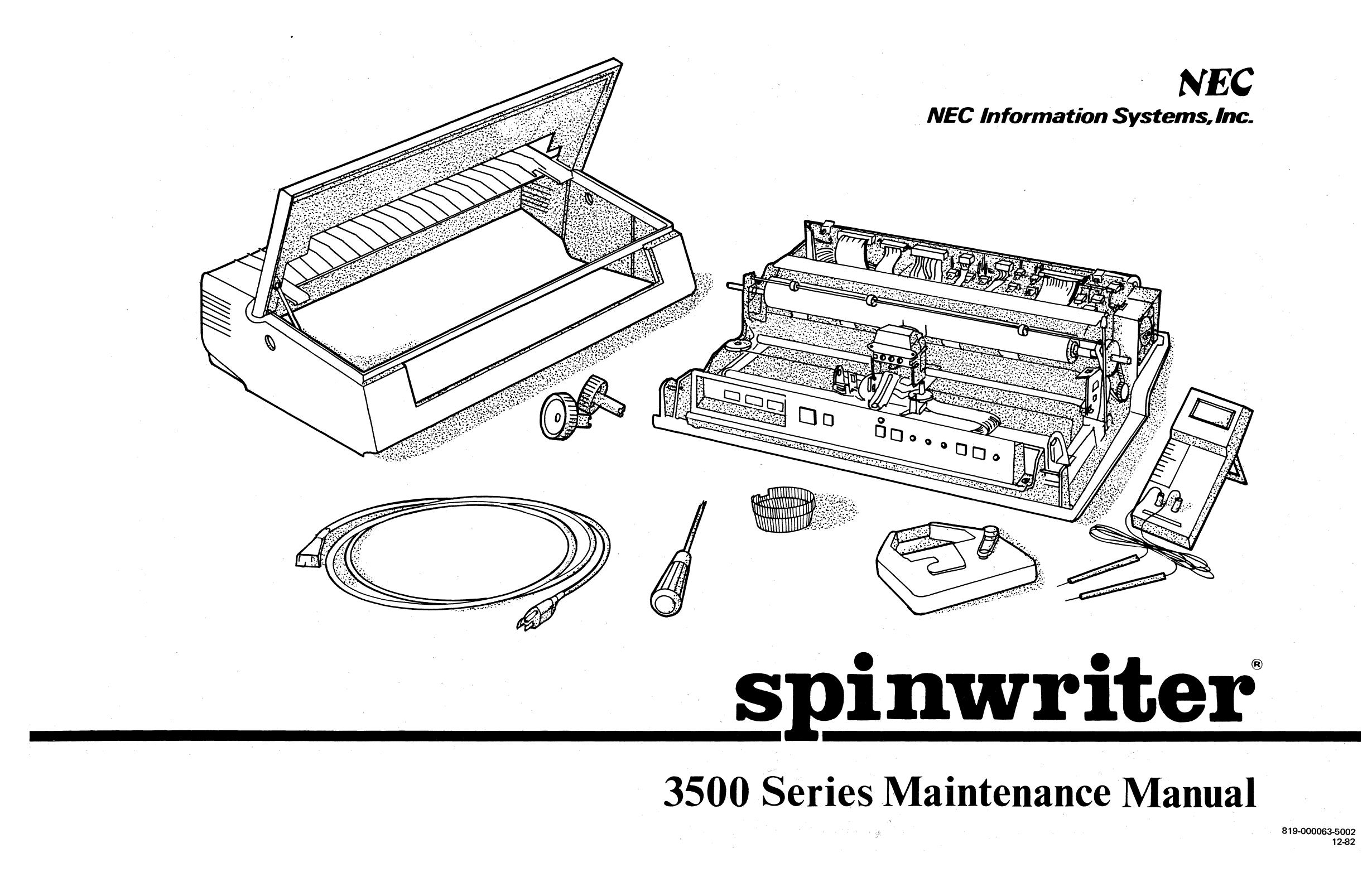 3500 Series Maintenance Manual   manualzz.com