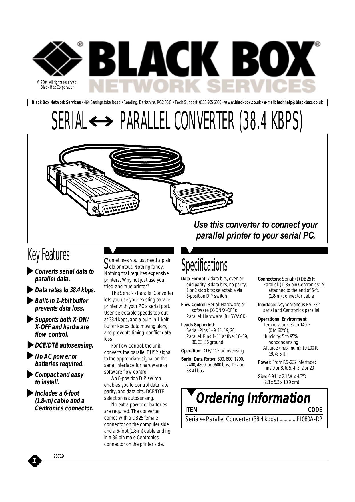 Serialparallel Converter 384 Kbps Serial To Parallel