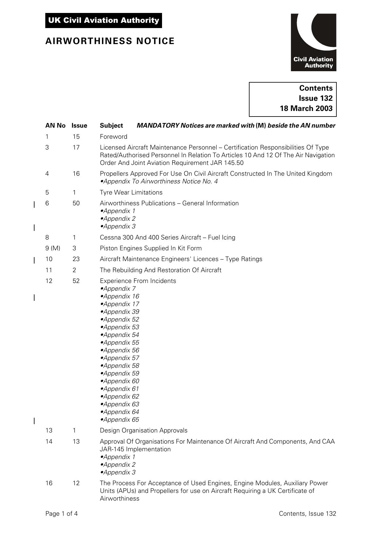 CAP 455 - Airworthiness Notices   manualzz com