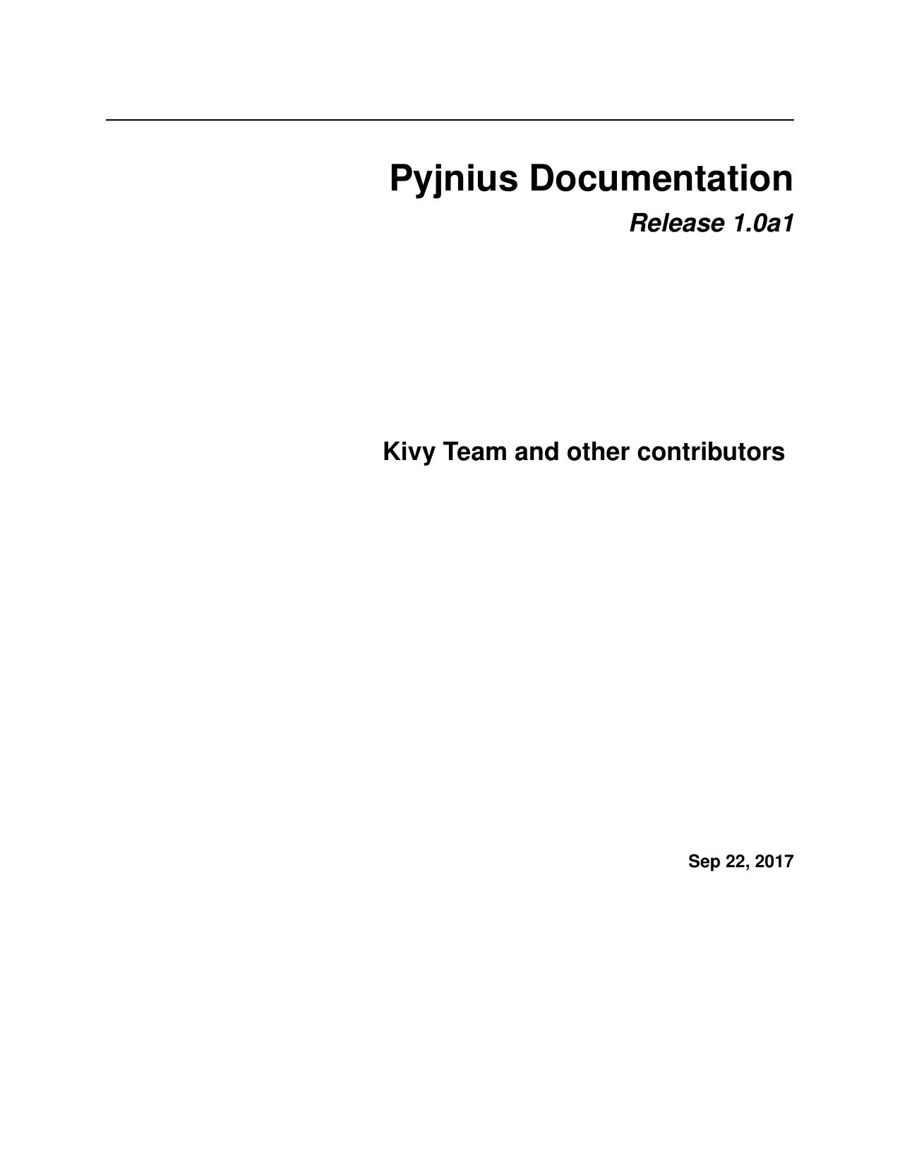Pyjnius Documentation | manualzz com