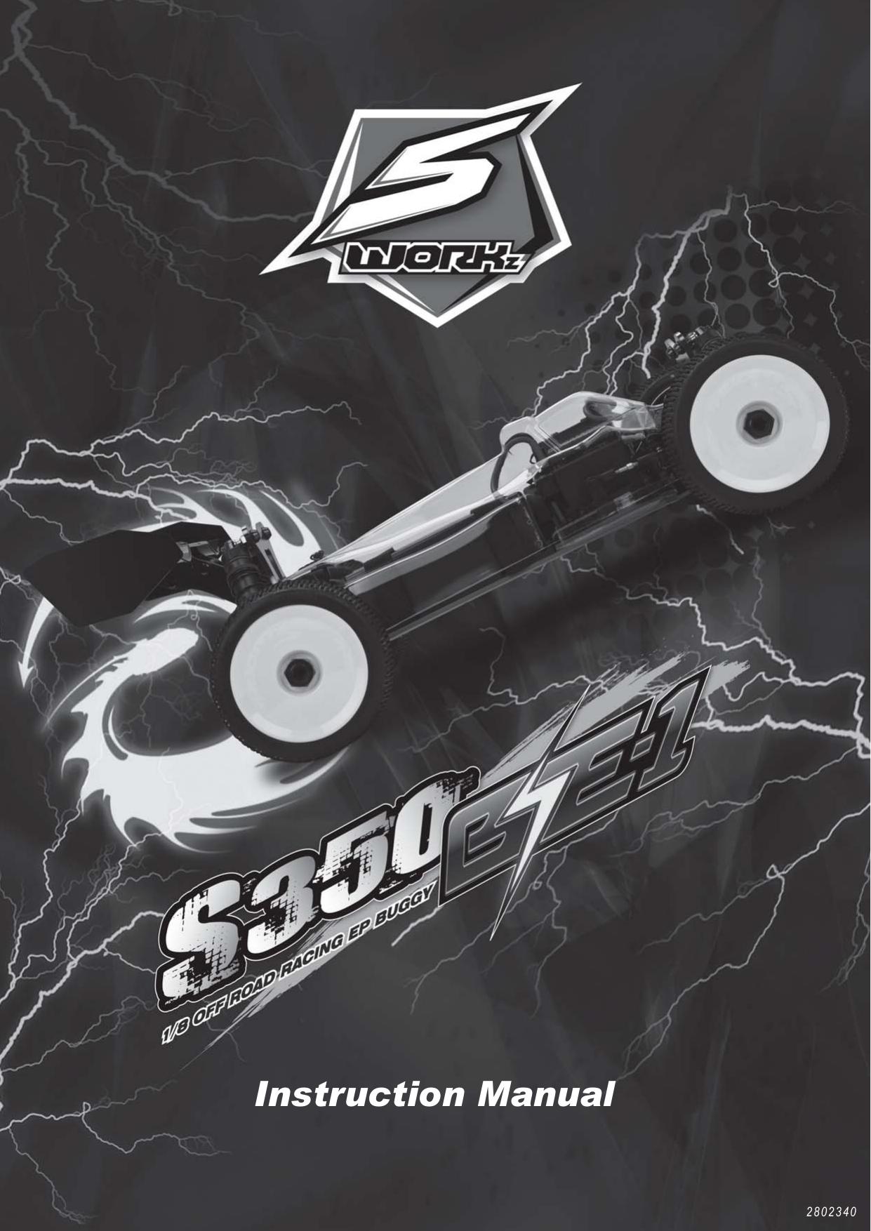 Sworkz  1//8 Buggy   Front Shock Boot #SW-400010