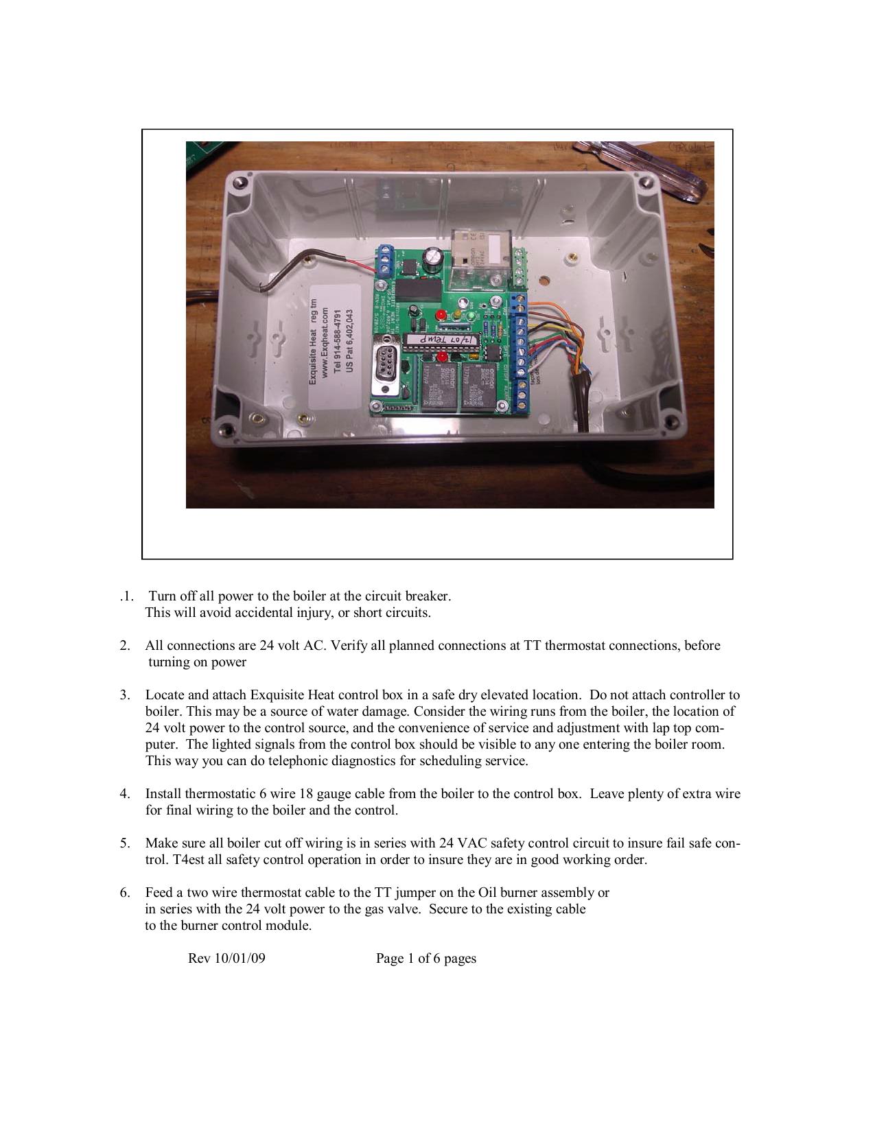 Thermostat Wiring Gauge