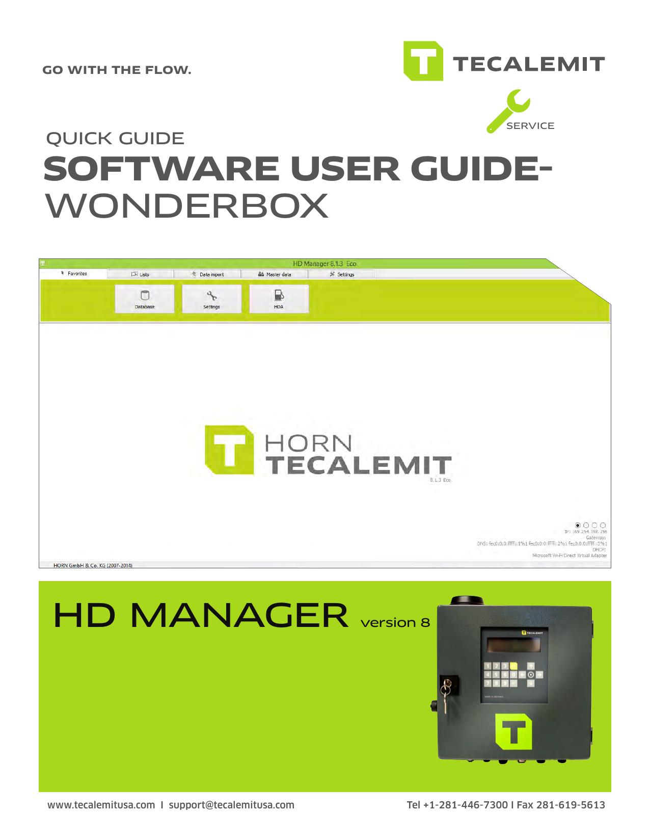 SOFTWARE USER GUIDE- WONDERBOX HD | manualzz com