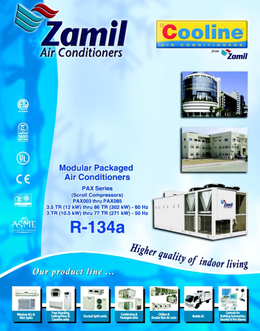 PRX series - Zamil Air Conditioners | manualzz com