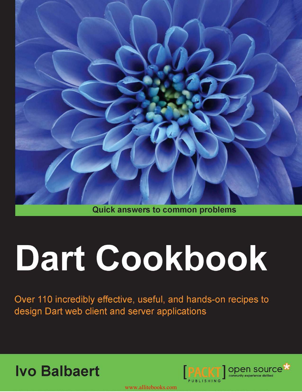 Dart Cookbook - All IT eBooks | manualzz com