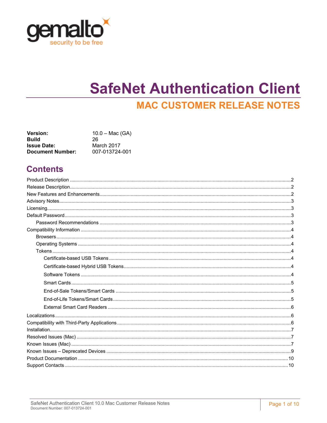 SafeNet Authentication Client | manualzz com