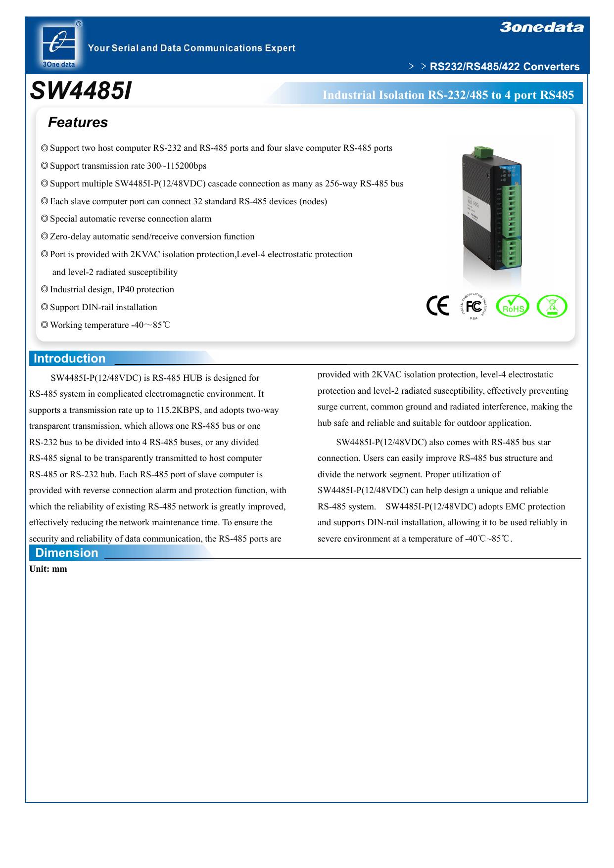 SW4485I - Telkolink | manualzz com