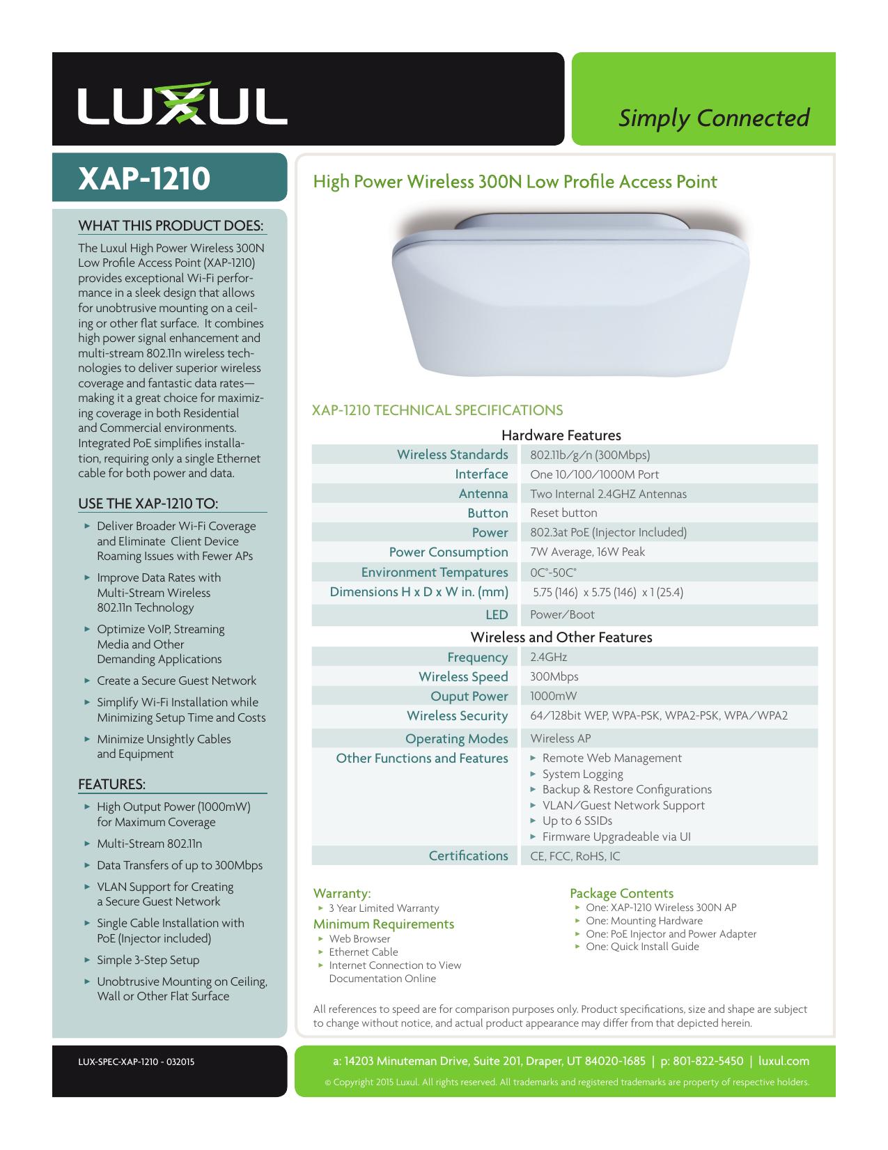 XAP-1210   manualzz com