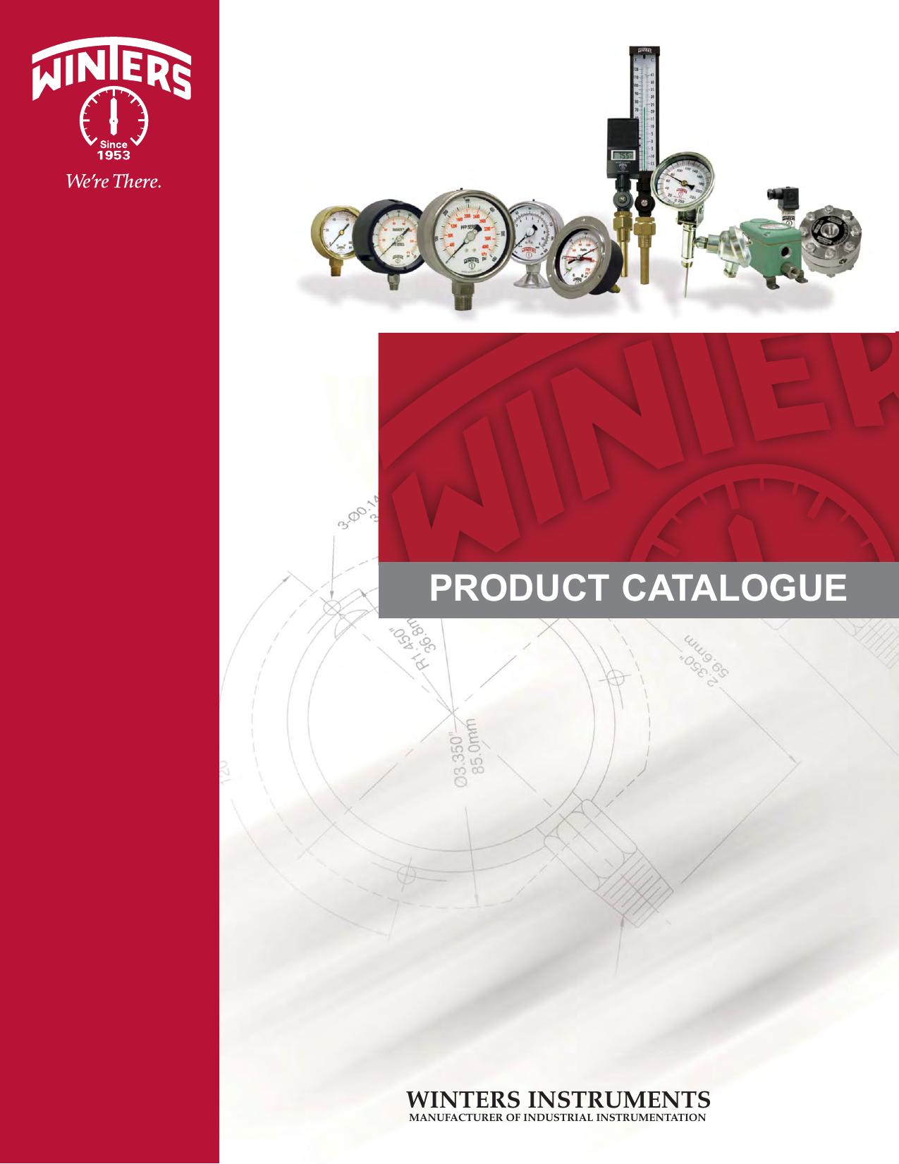 "WINTERS LOW PRESSURE GAUGE 315-CM 4/"" x1//4NPT RANGE 0//15PSI 30/""HG"