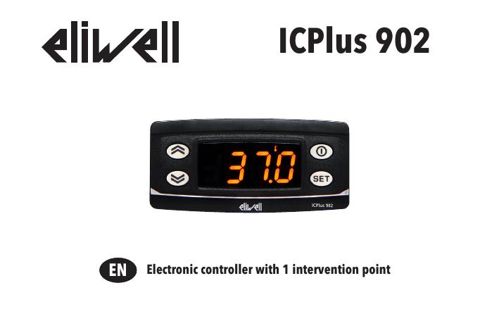 Eliwell IC Plus 902 Temperature Controller PTC-NTC 230V