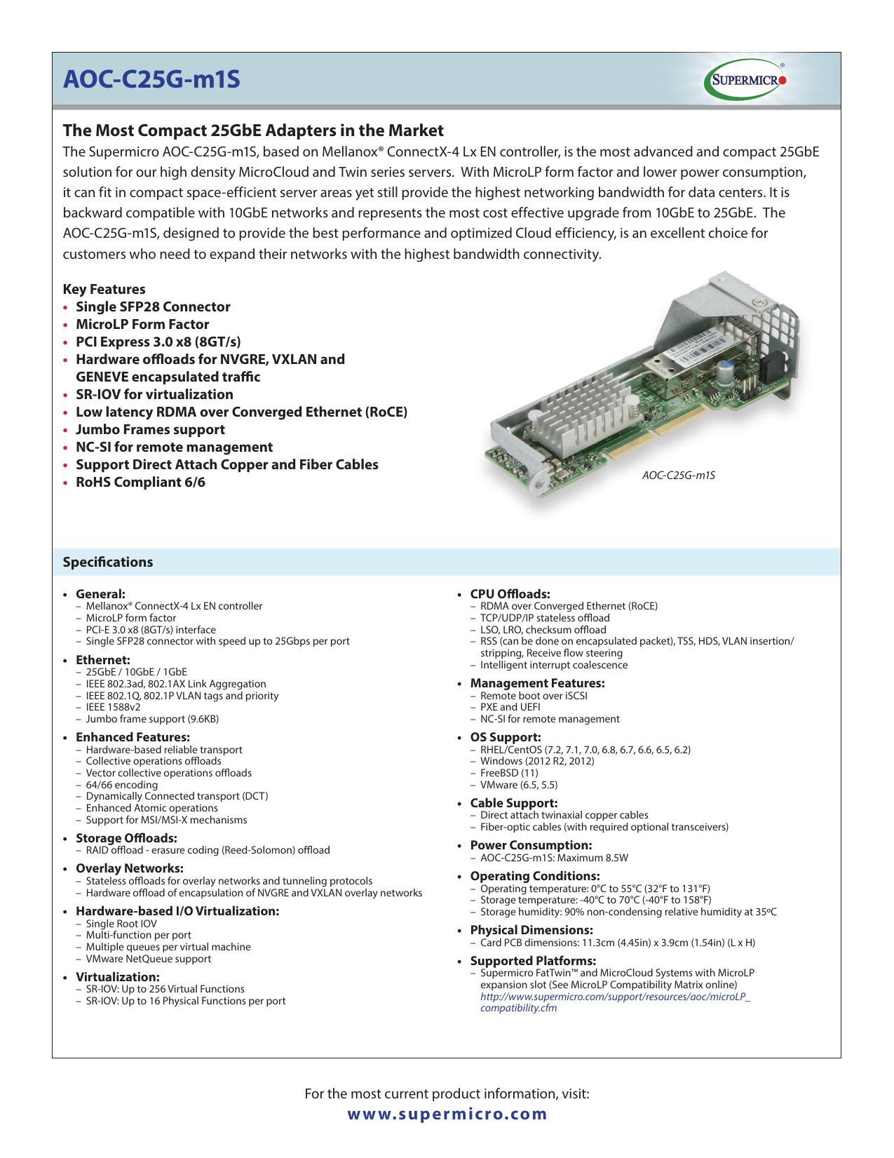 AOC-C25G-m1S | manualzz com