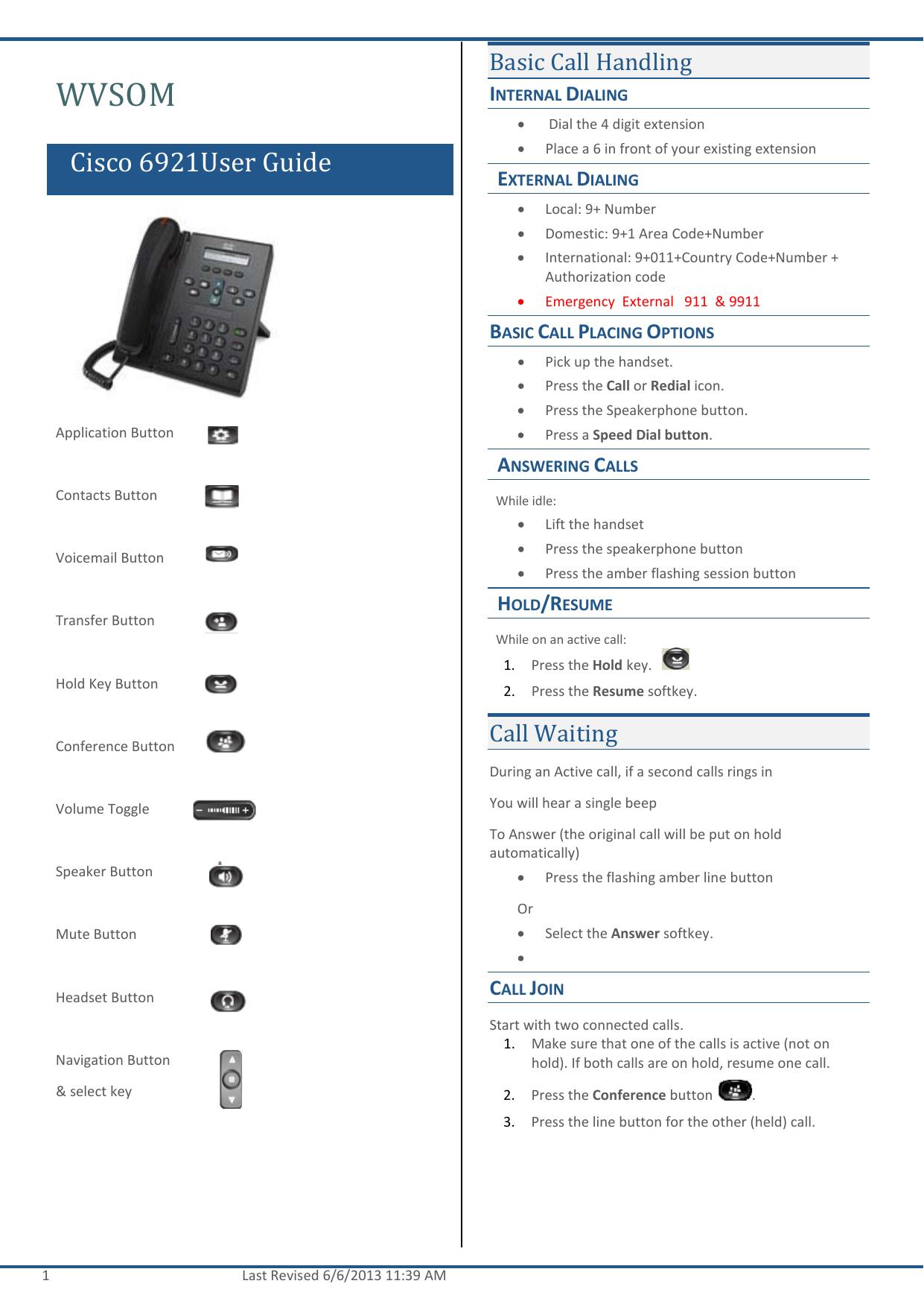 Cisco Phone Manual 8945