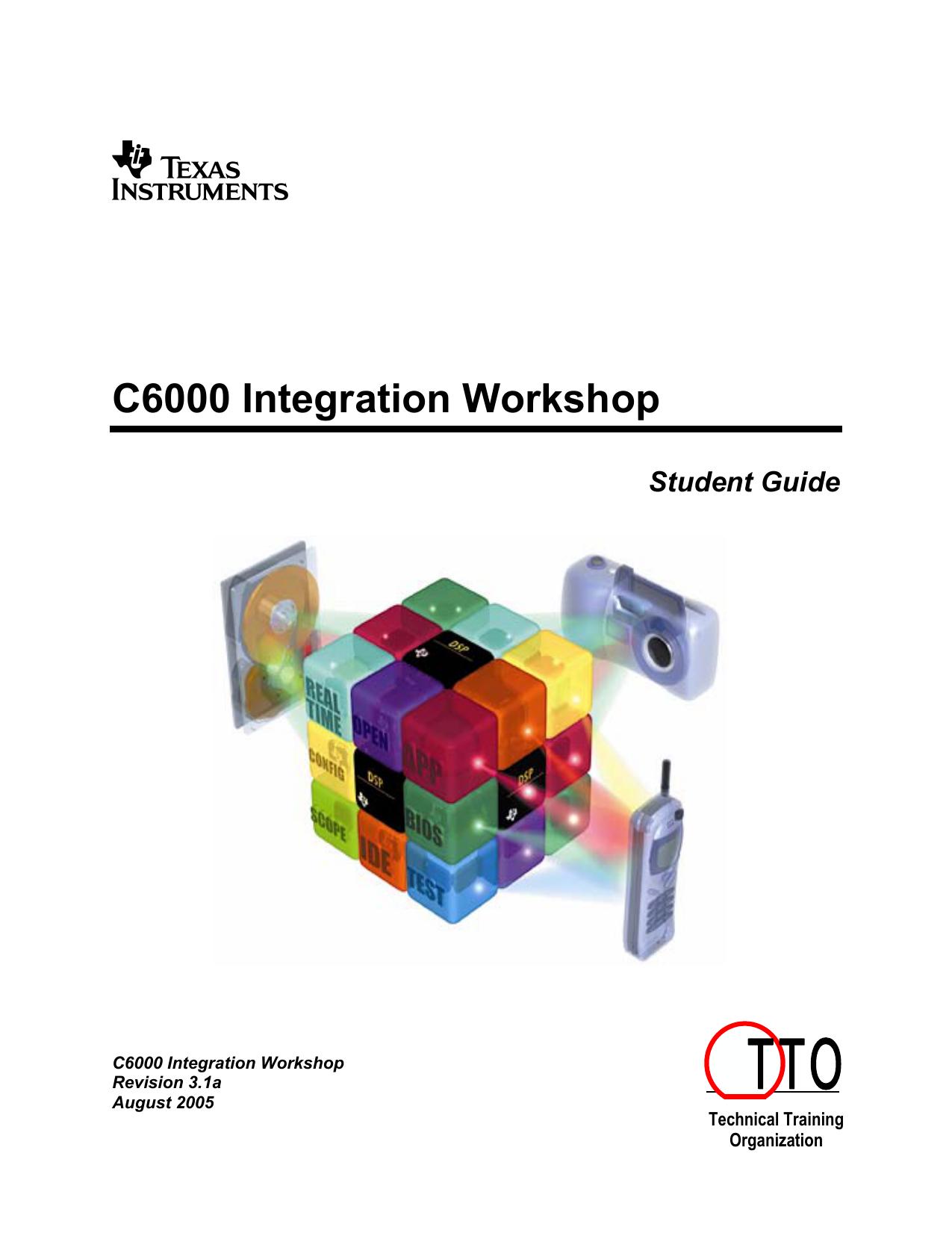C6000 Integration Workshop TI E2E Community | Manualzz