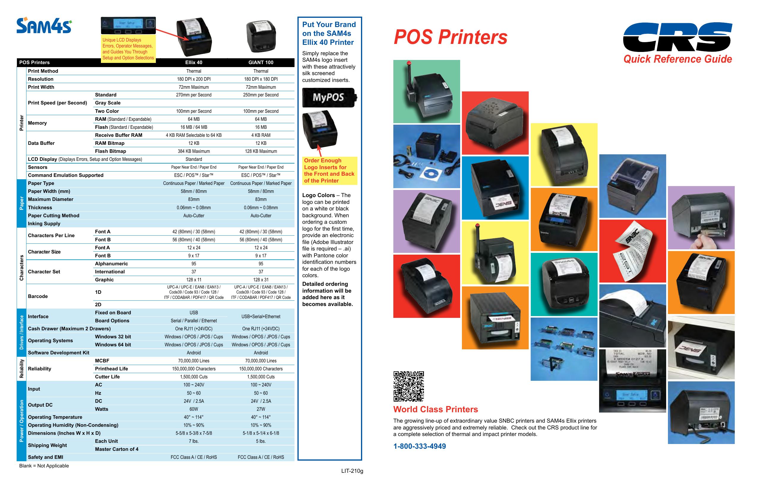 POS Printers | manualzz com