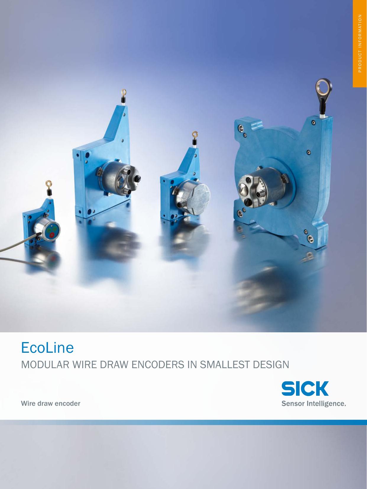 Ecoline Modular Wire Draw Encoders in smallest Design   manualzz.com