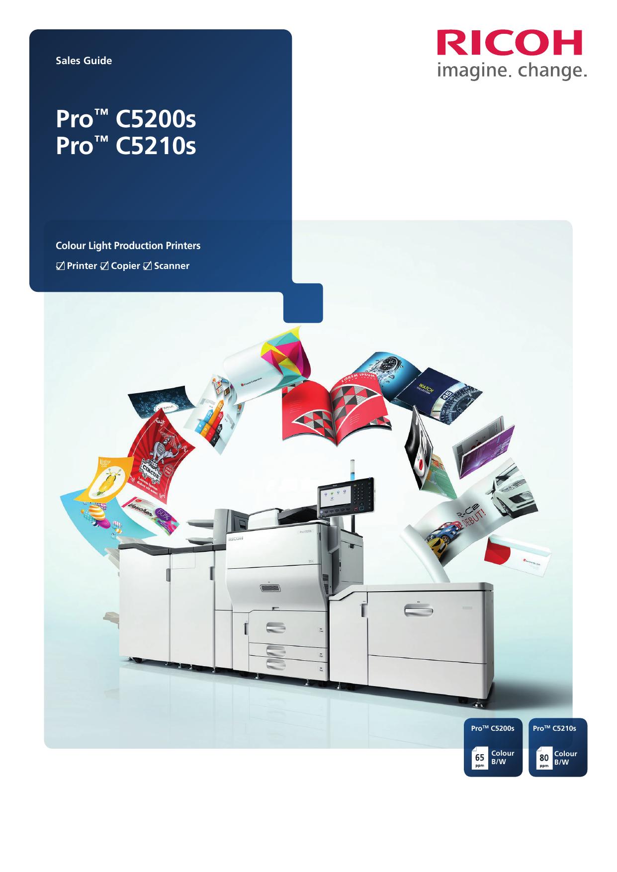 Pro™ C5200s Pro™ C5210s | manualzz com