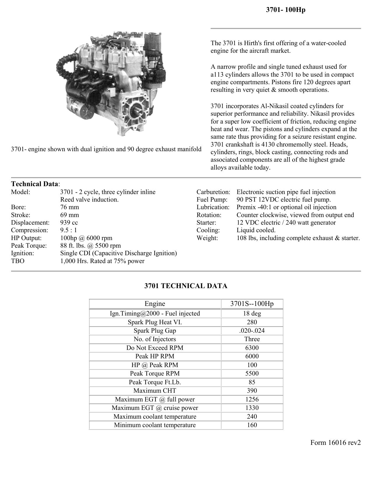 Hirth 100HP Engine Parts | manualzz com