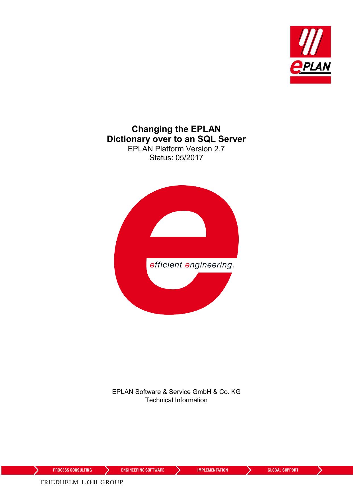 SQL Server EPLAN Dictionary P8 2 7   manualzz com