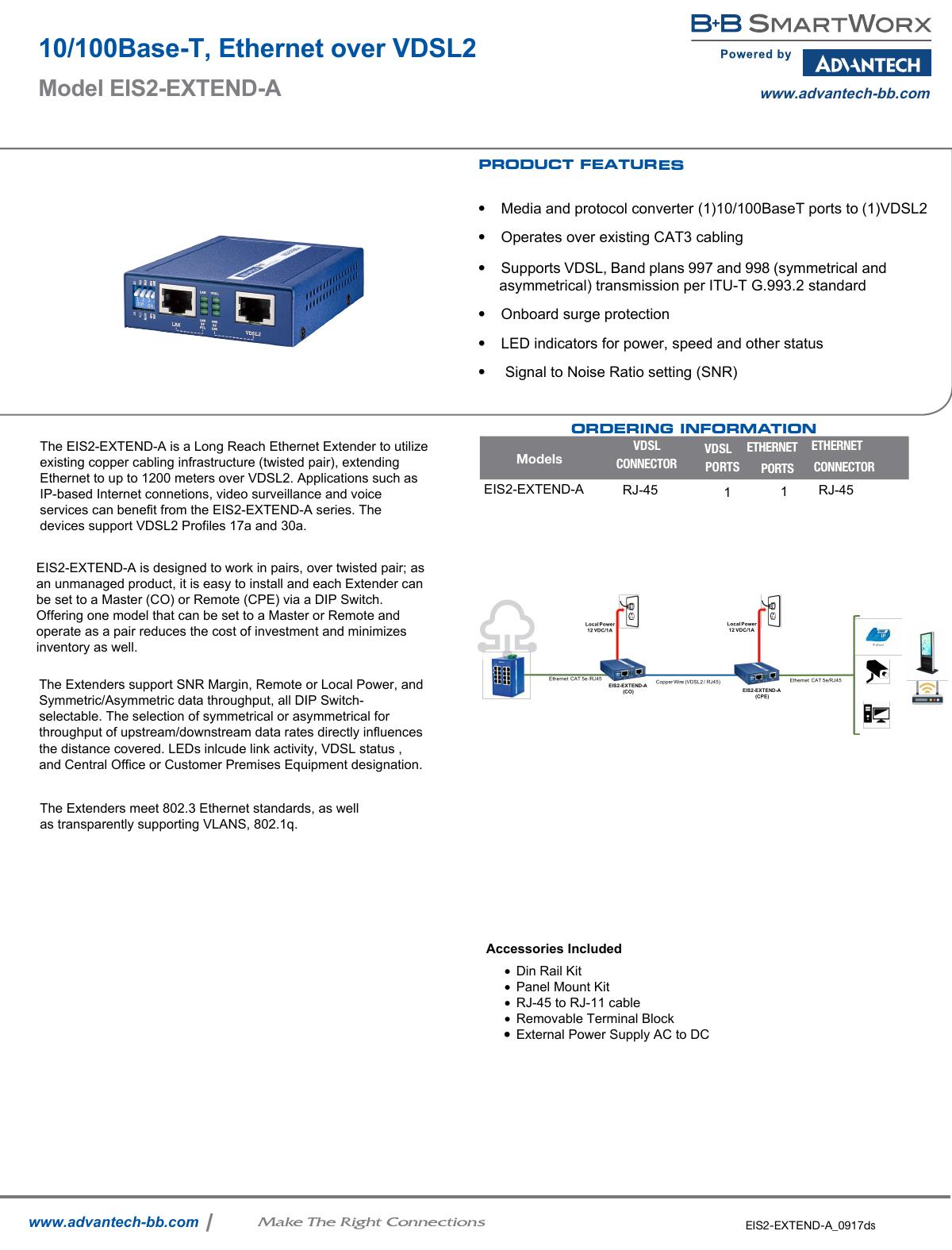 10 100base T Ethernet Over Vdsl2 Vdsl Wiring Diagram