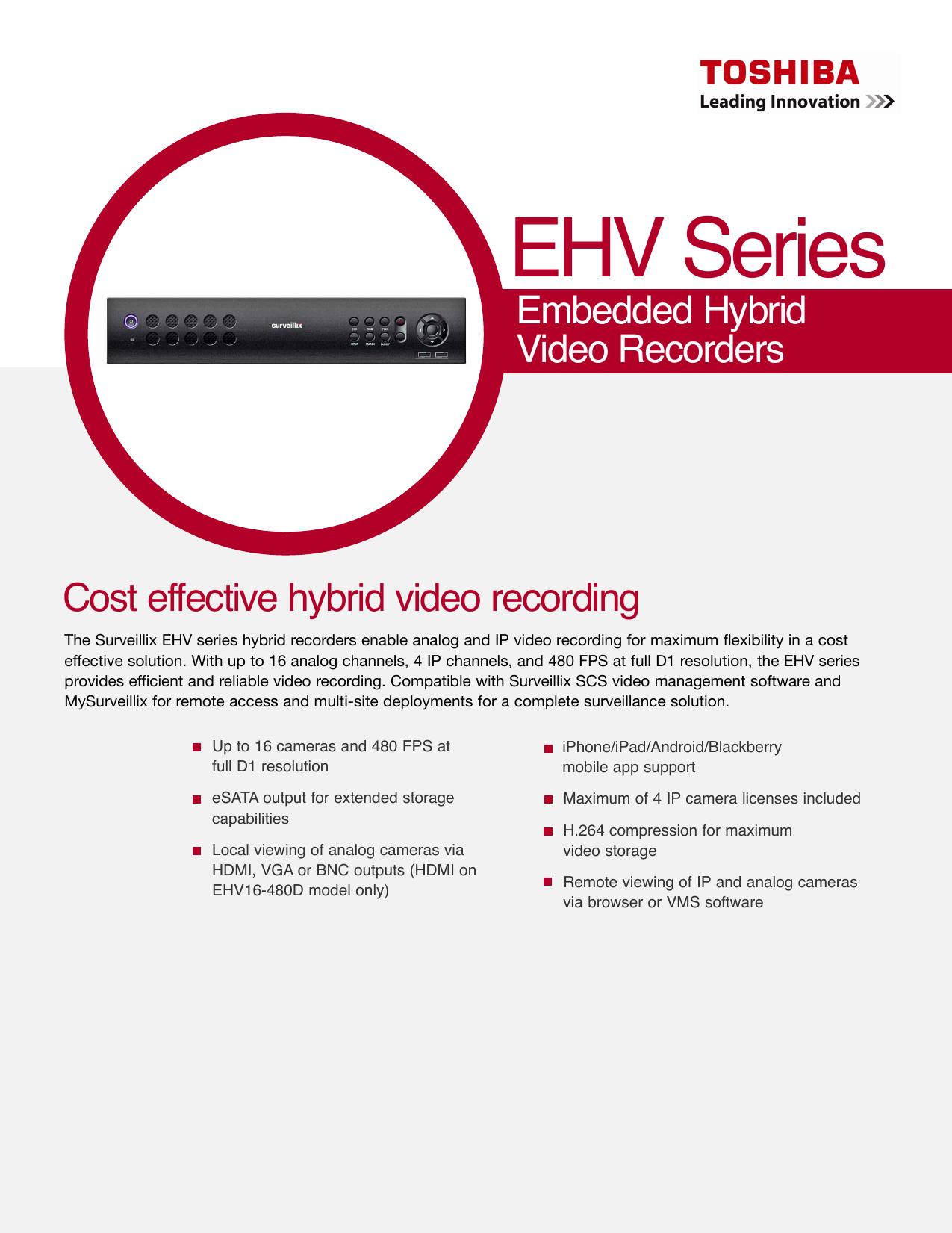 EHV Series - PHD Communications, Inc  | manualzz com