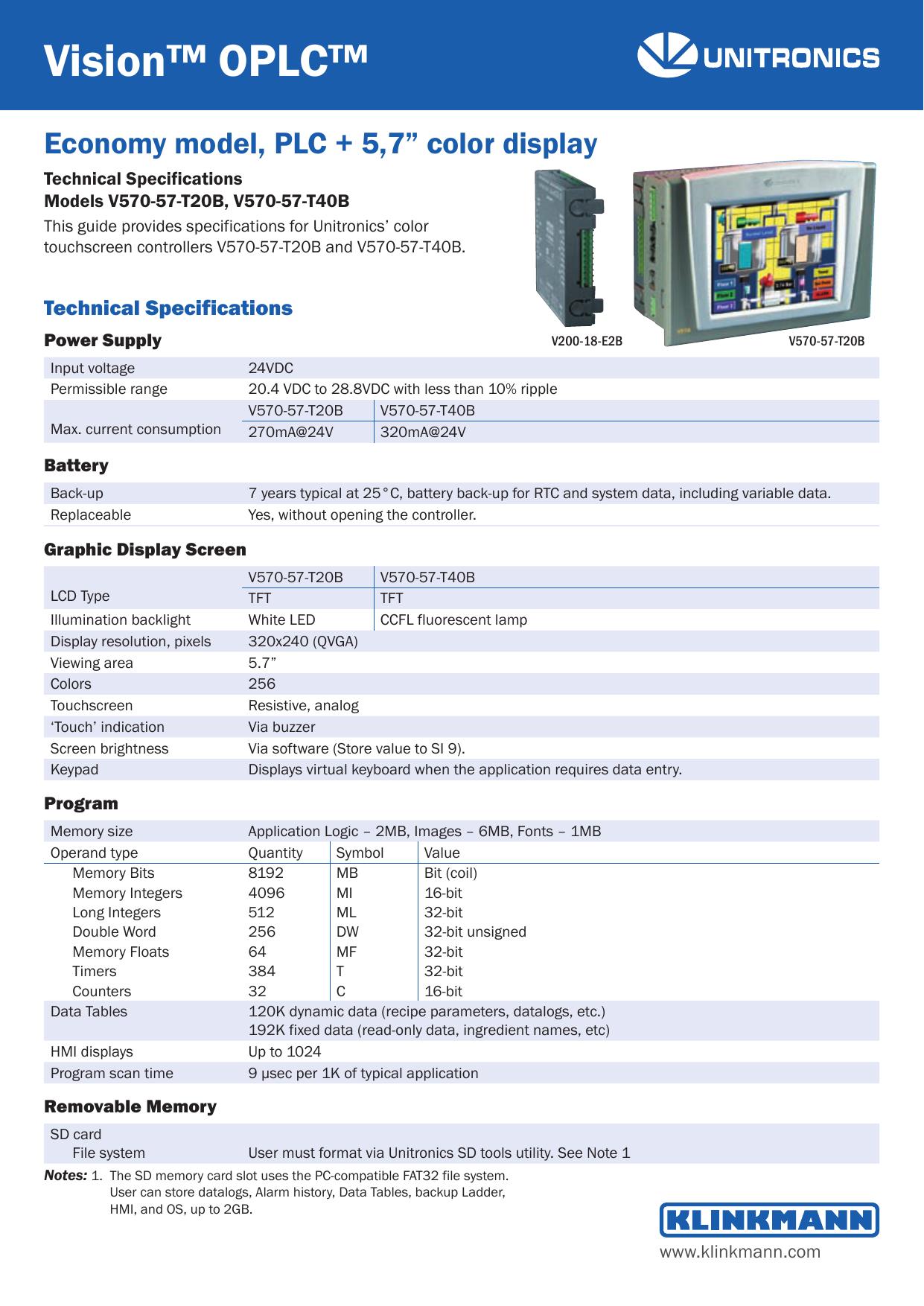 Vision™ OPLC | manualzz com