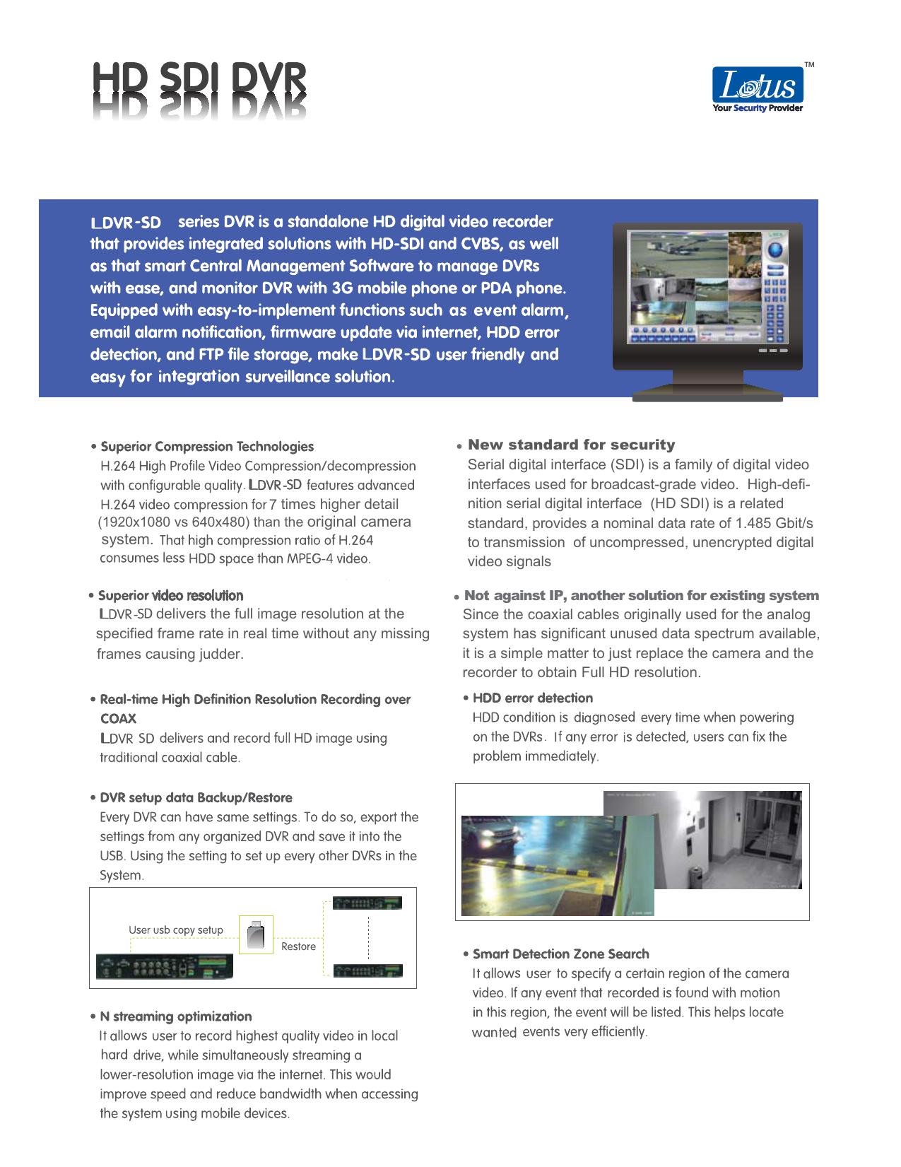 LDVR-SD400 | manualzz com