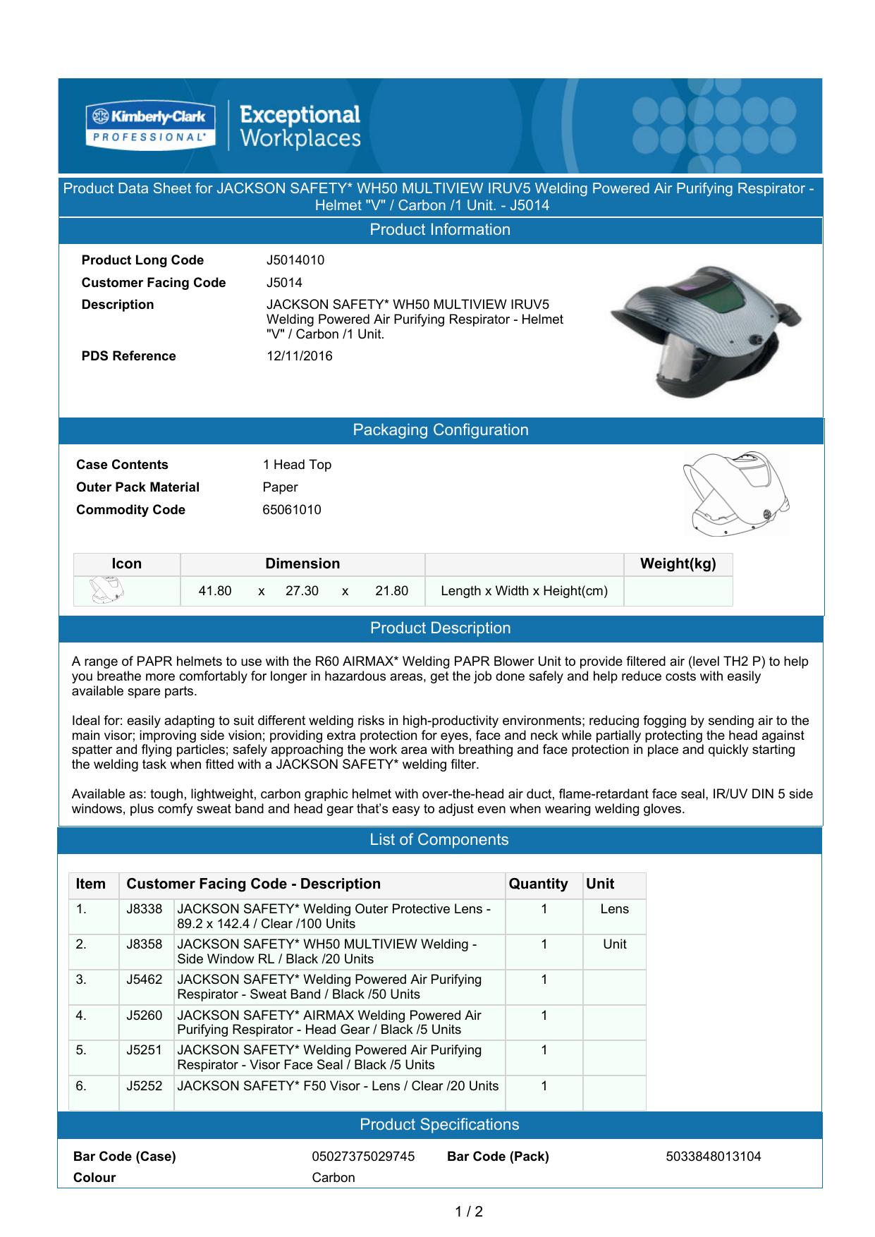 Jackson Airmax Multiview Inner Lenses x 10