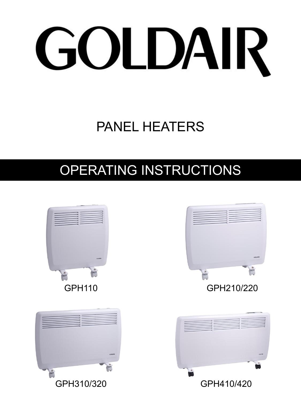 Gph110 Gph210 Gph220 Gph310 Gph320 Gph410 Manualzz