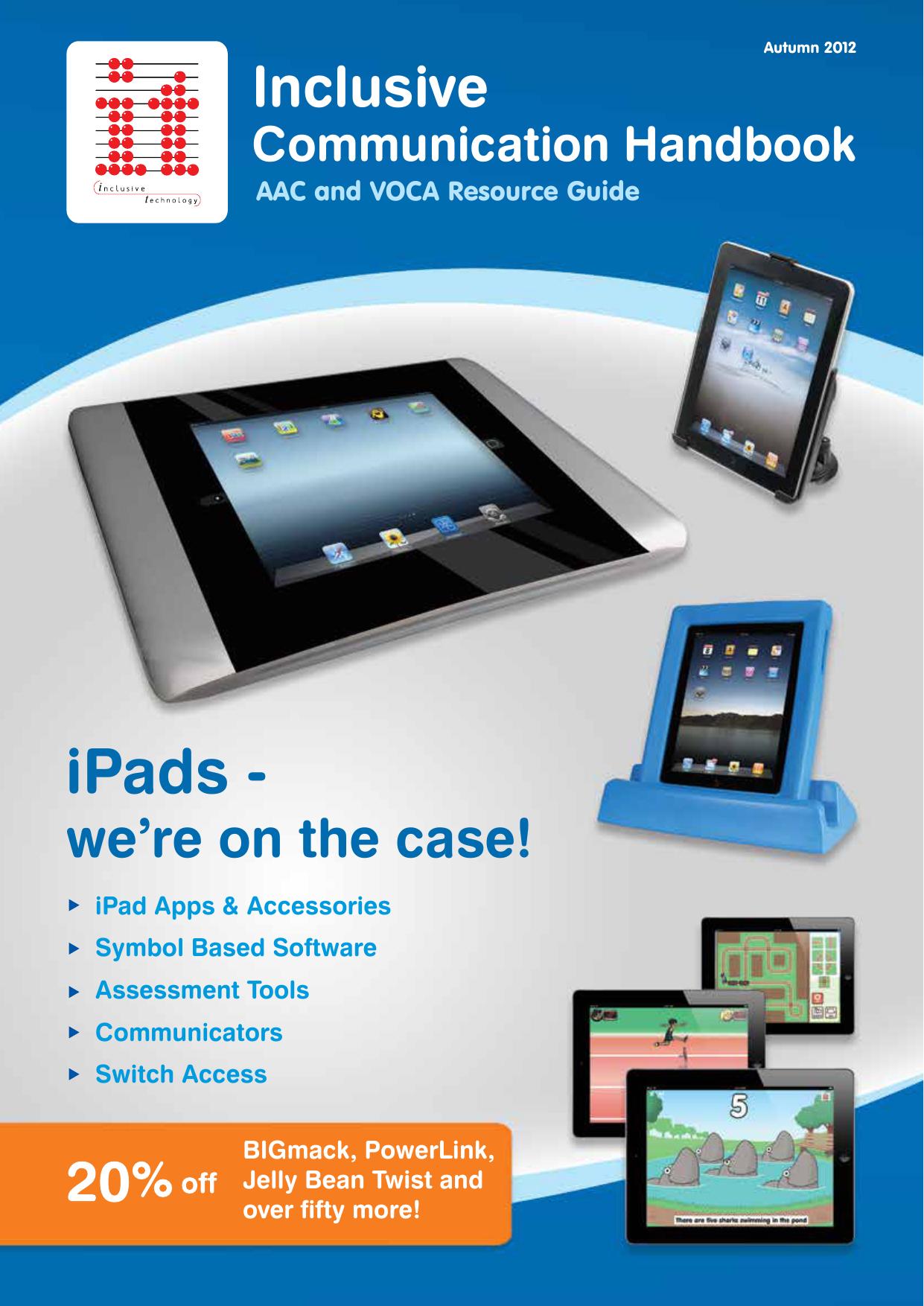 iPads - Inclusive Technology | manualzz com
