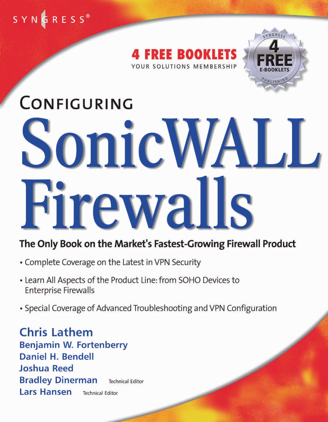 Configuring SonicWALL Firewalls | manualzz com