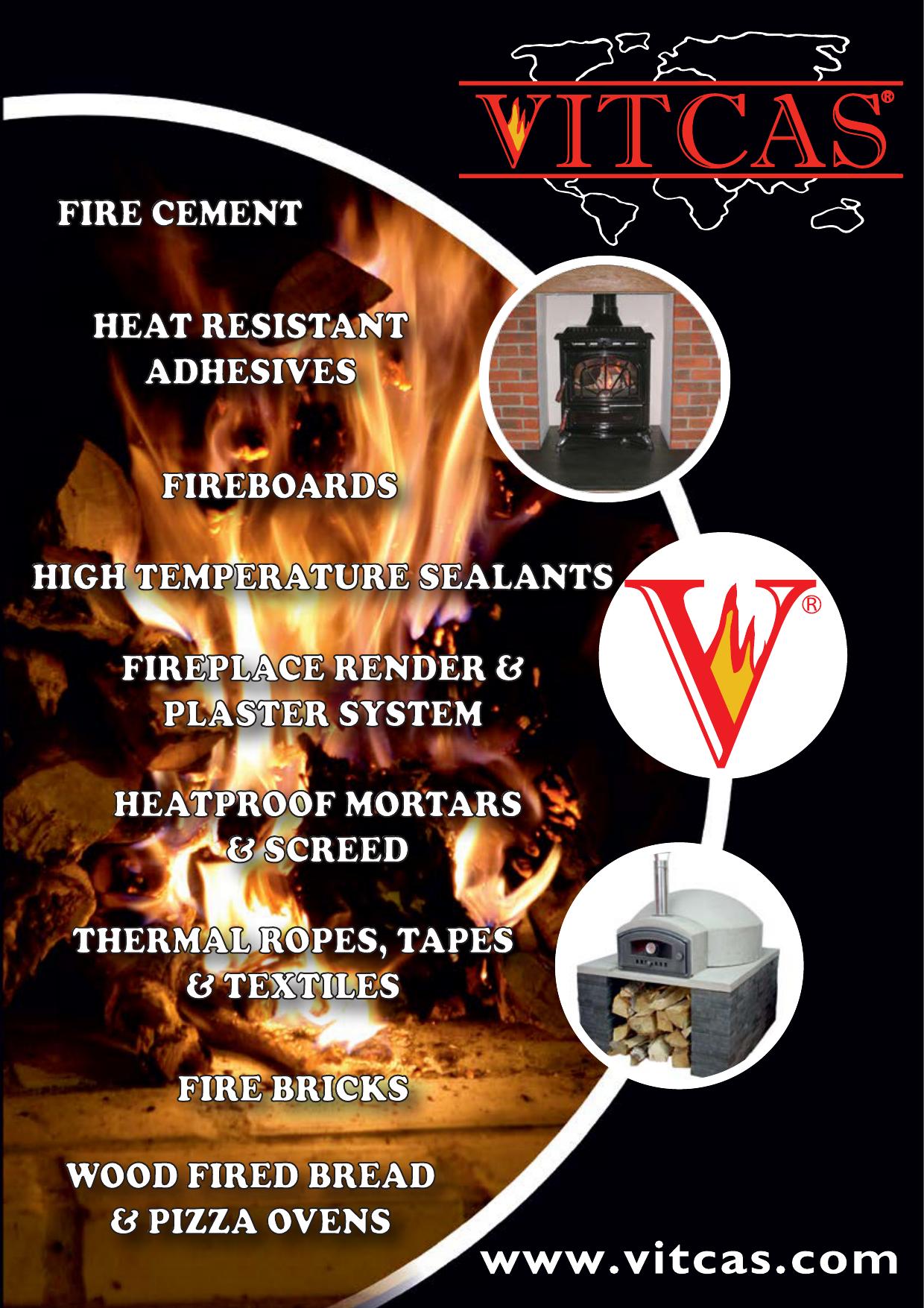 20Kg VITCAS Fireplace Render