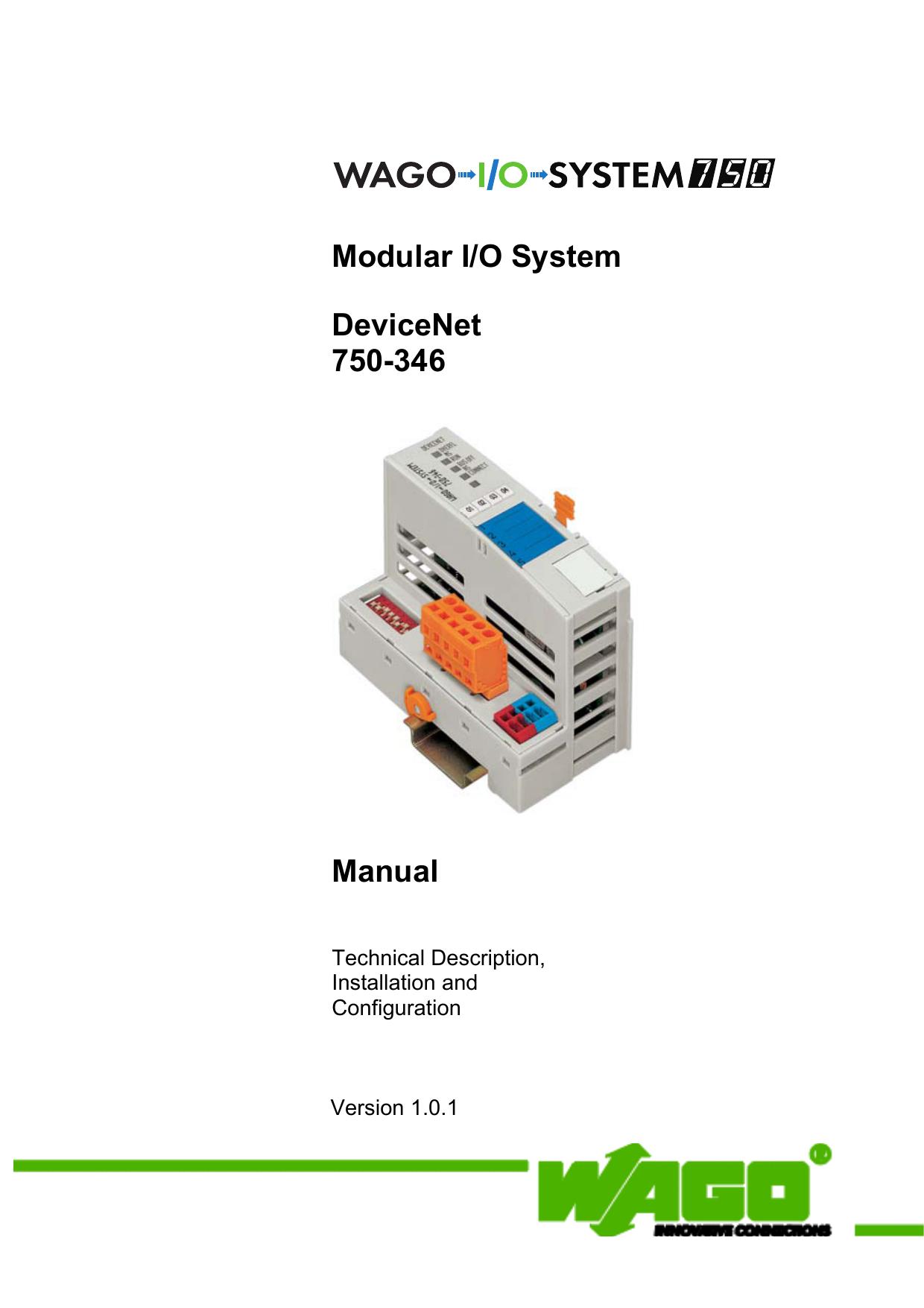 Handbuch Devicenet 750 Wiring Diagram