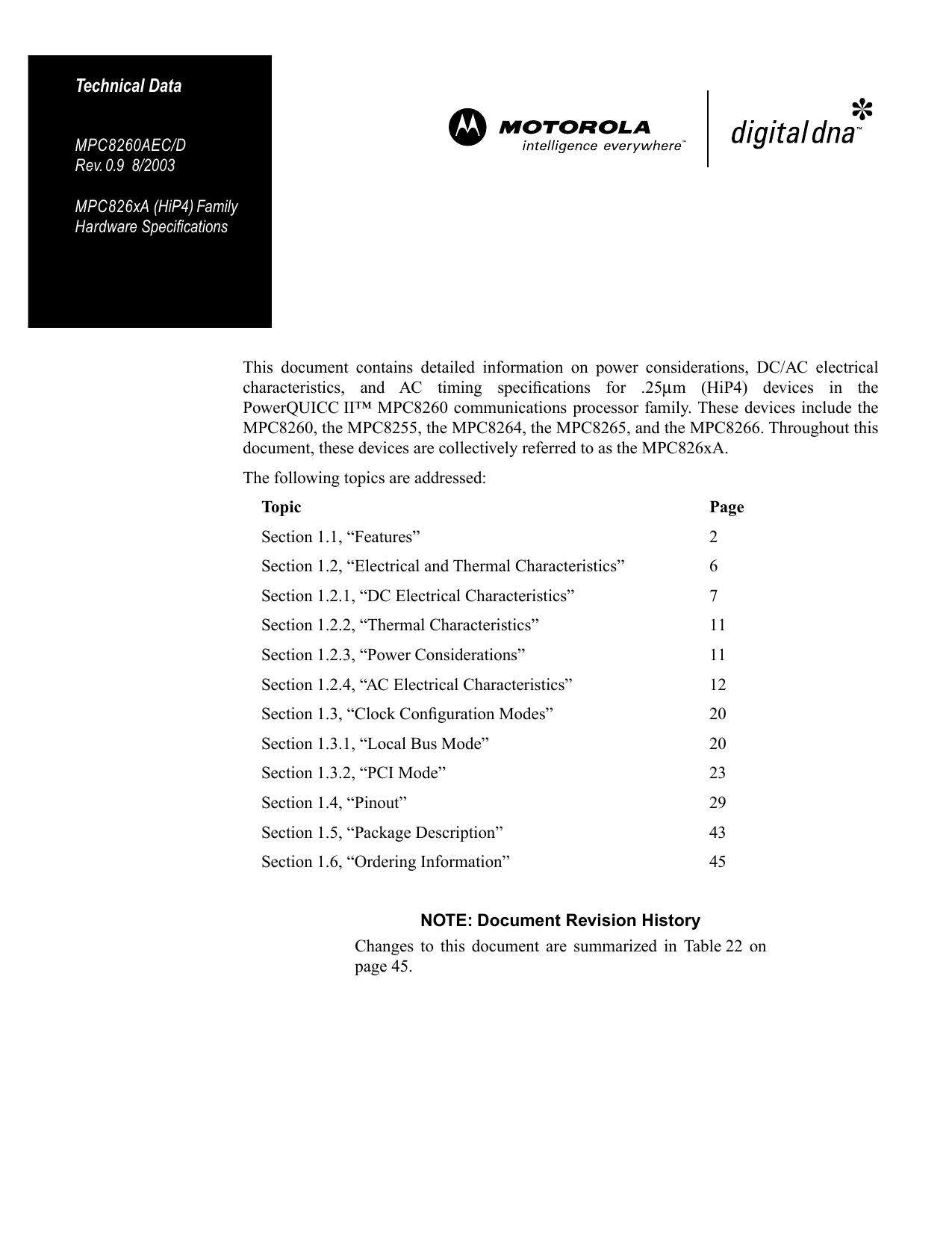 MPC8255AZUMHBB - Freescale Semiconductor, Inc  | manualzz com