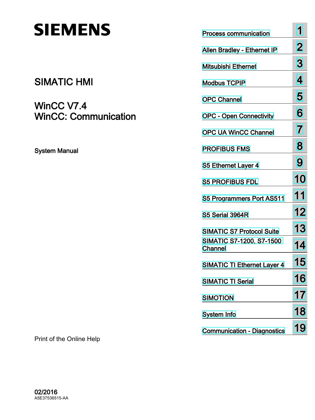 SIMATIC HMI WinCC V7 4   manualzz com