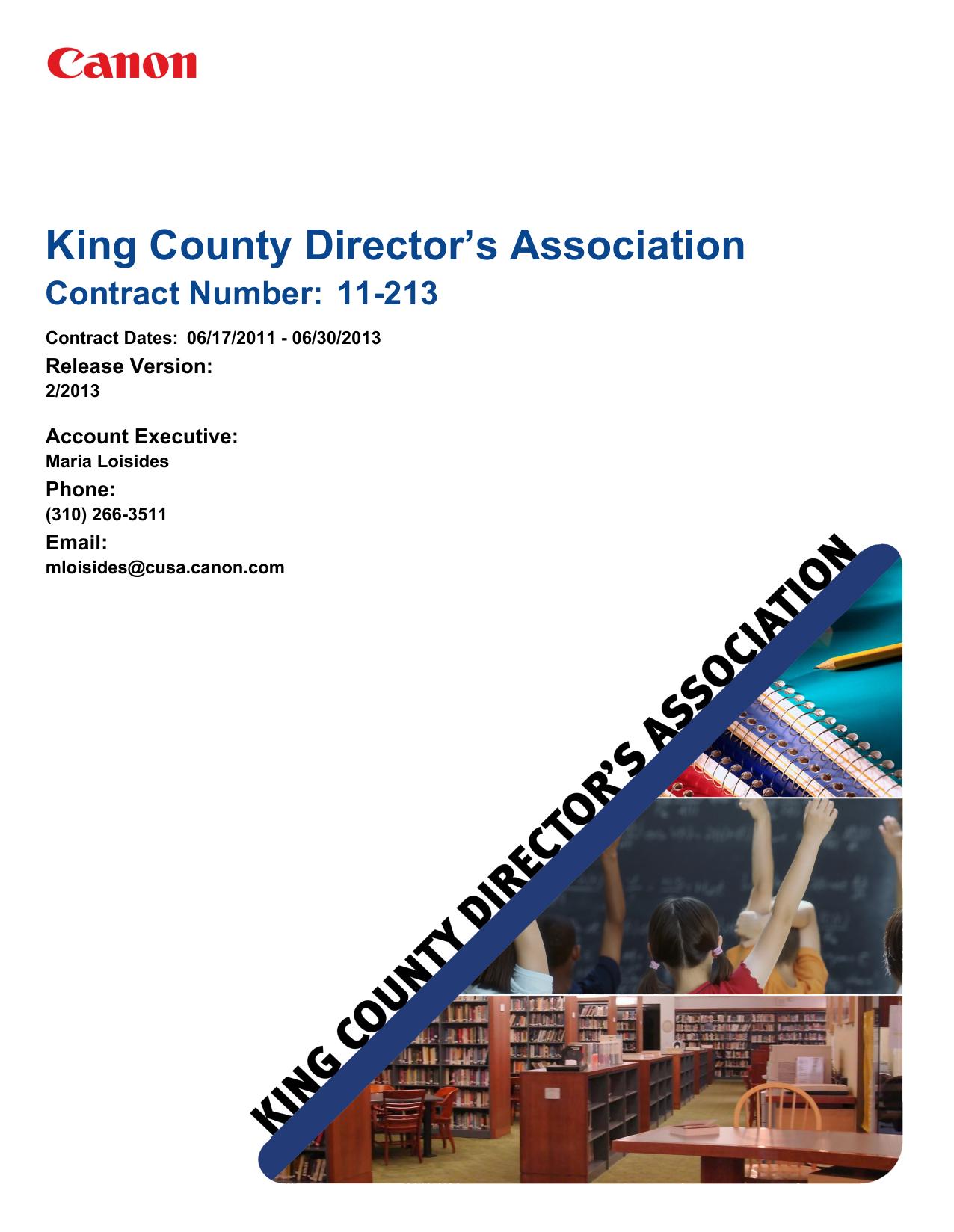 King County Director`s Association   manualzz com