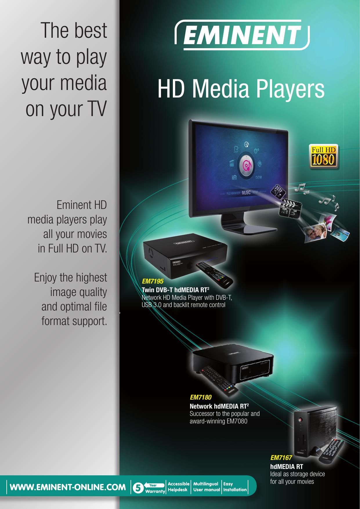 HD Media Players