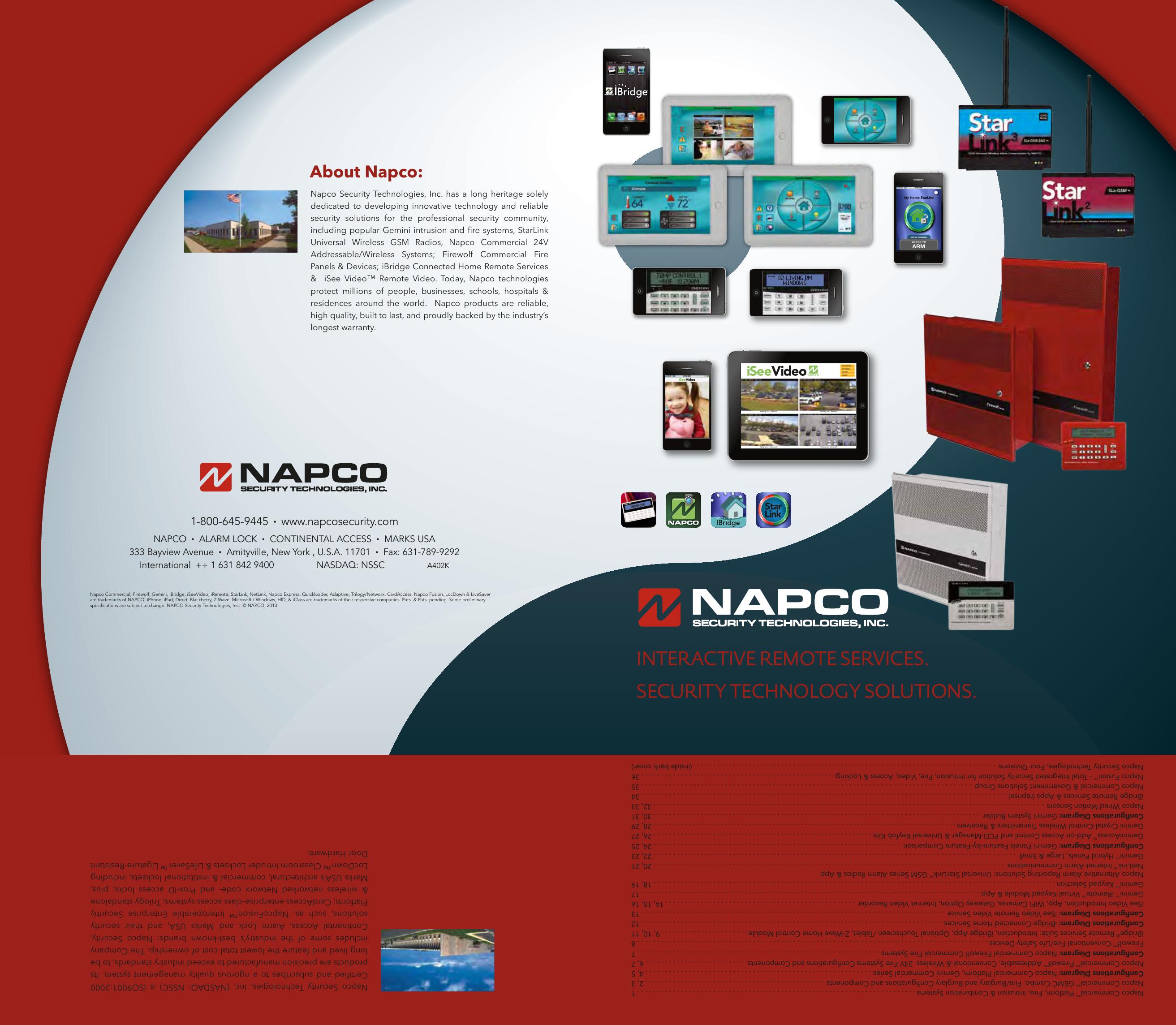 Napco GEM-RECV32 Gemini Wireless Receiver