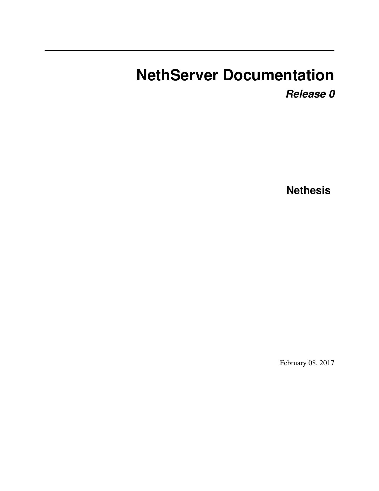 NethServer Documentation | manualzz com